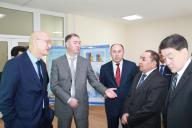 Minister of Regional Development of the Republic of Kazakhstan Bolat Zhamishev a working visit to the branch RSE «Gosexpertiza» in Almaty